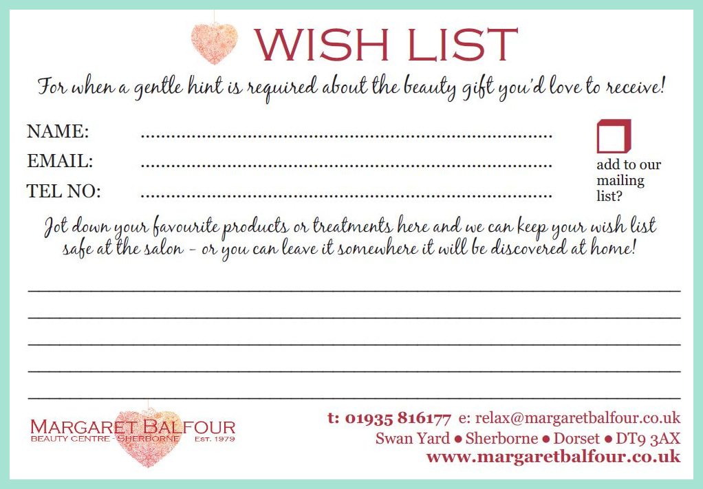 Search Results For Christmas Wish List To Print Out