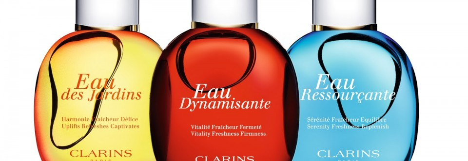 Feel good fragrances from Clarins