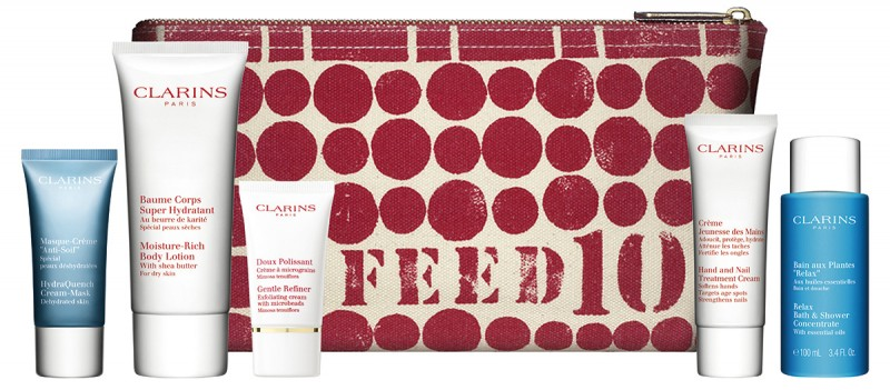 Feed Charity Clarins Beauty Gift Margaret Balfour