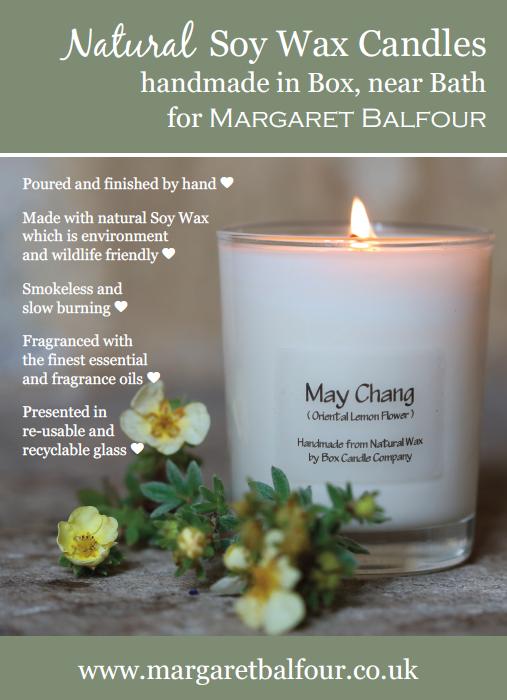 Margaret Balfour Box Candle May Chang