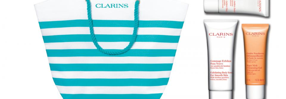 Clarins Summer Travel Offer