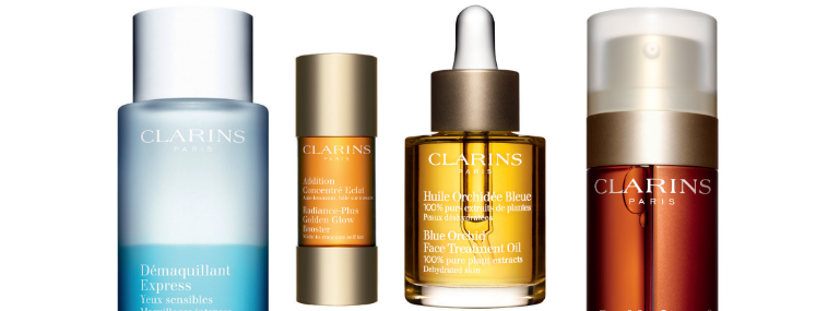 Double Clarins Points