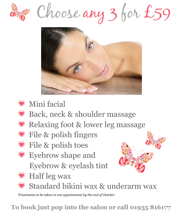 Late summer offer margaret balfour beauty salon for Beauty salon xmas offers