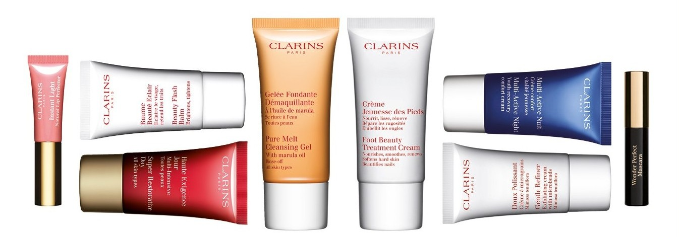 Clarins Gift of Beauty Offer