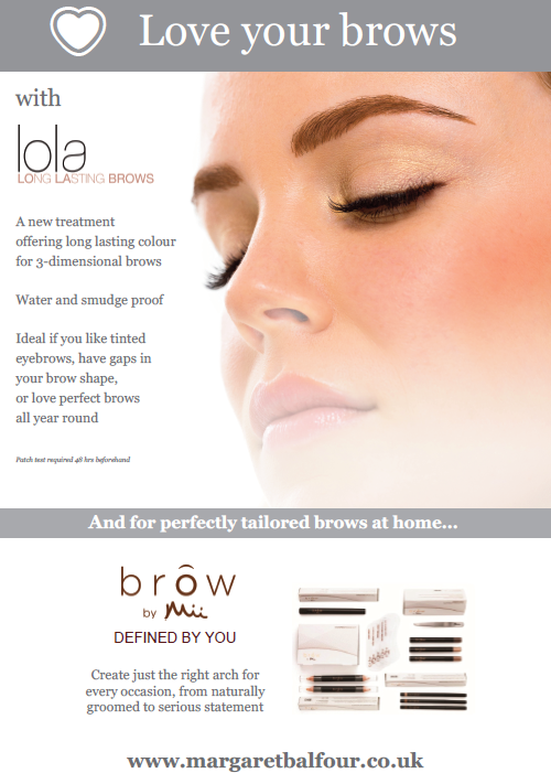 Love your brows with Margaret Balfour Sherborne