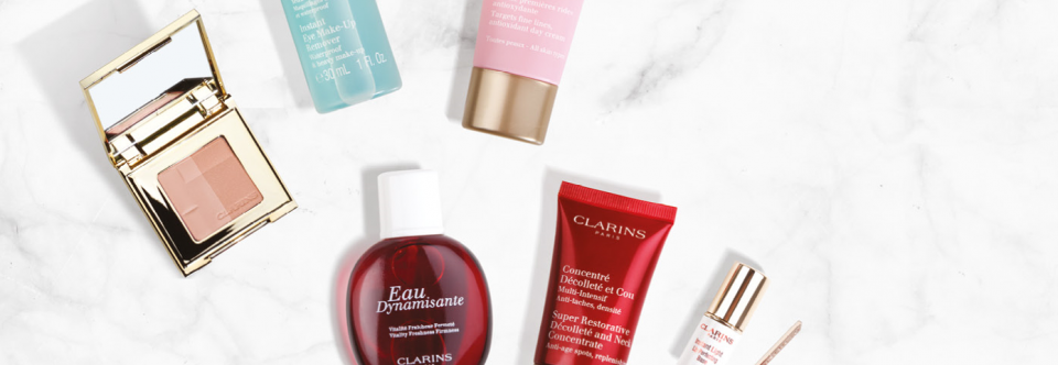 Clarins Free Gift of Beauty Offer