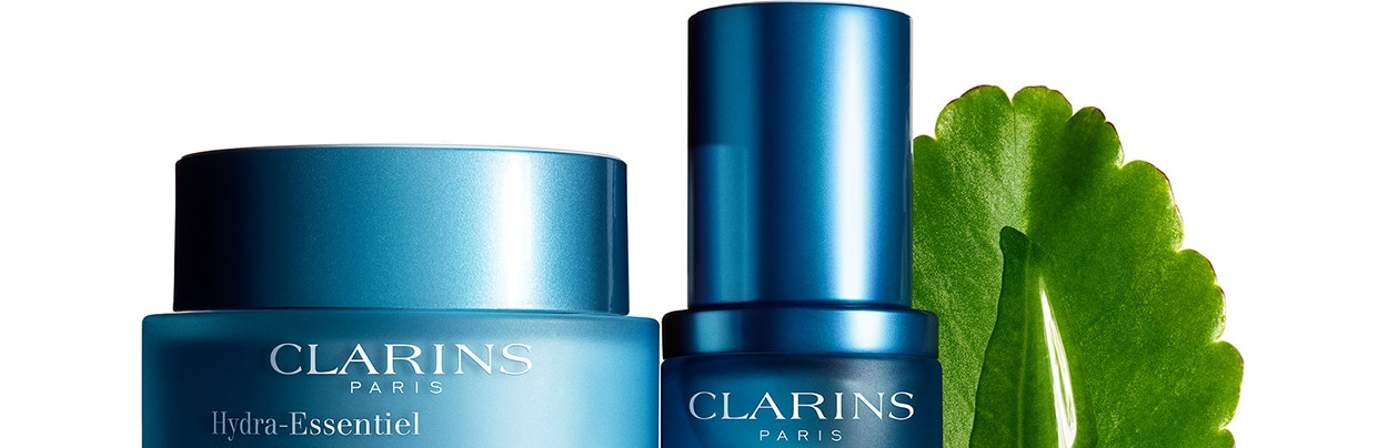 BioSkin Jetting and New Clarins Hydra-Essentiel Range