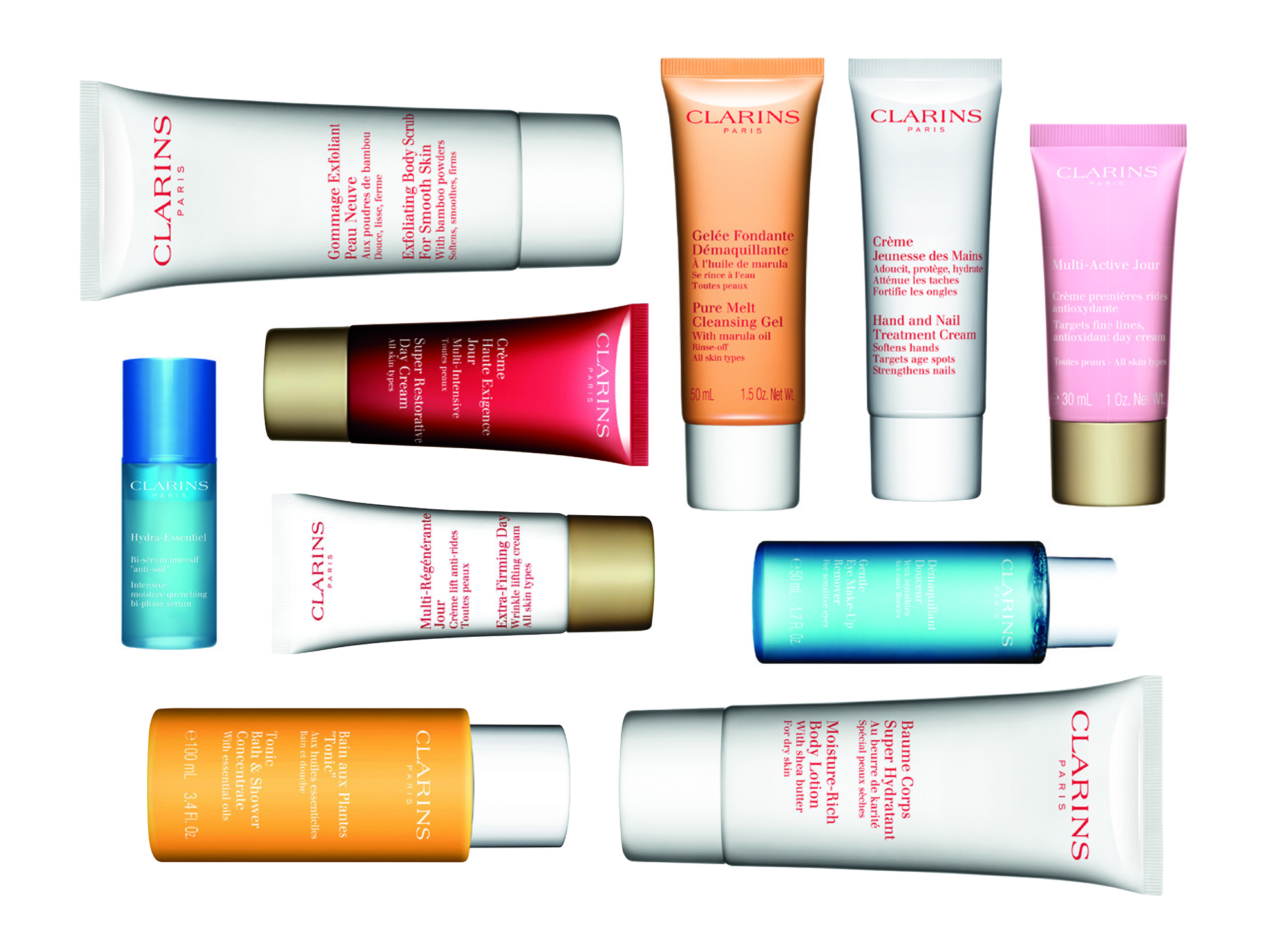 Clarins Summer Travel Offer