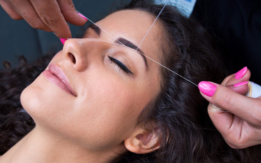 Hair removal with Threading
