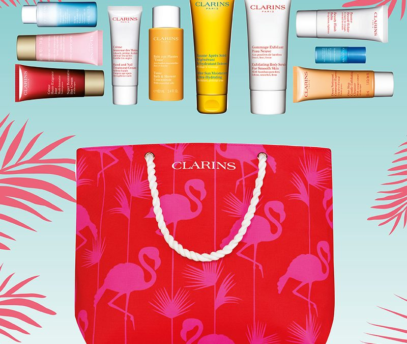 A FREE gift from Clarins worth £51