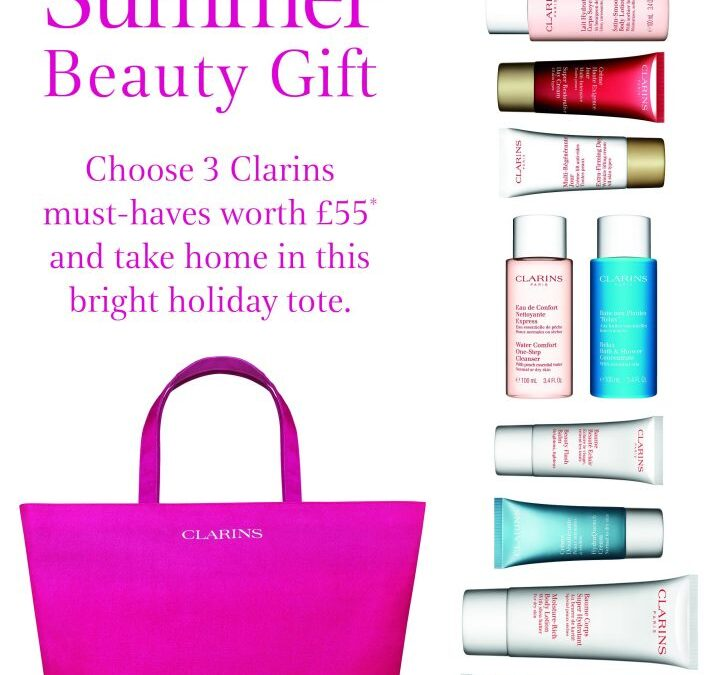 Clarins Summer Beauty Gift worth £55