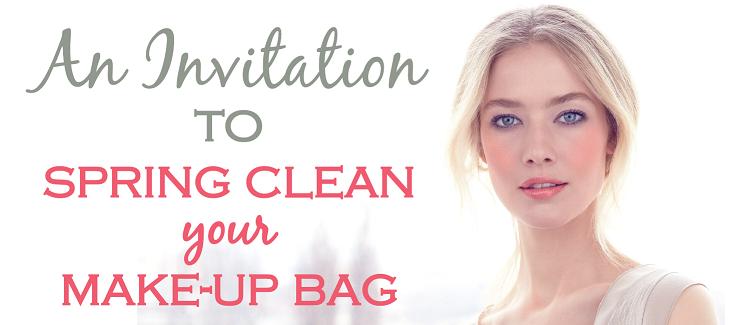Spring clean your make-up bag